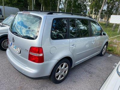 begagnad VW Touran 7 sitsig