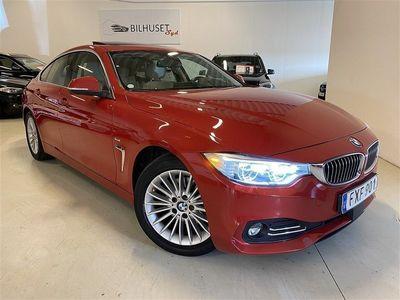 begagnad BMW 420 d Luxury Line Navi/Läder/HiFi/M-Sport ratt