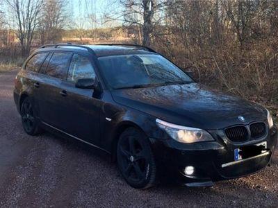 begagnad BMW 520 D M-sport Nyskattad/Nybesiktigad