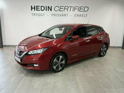 begagnad Nissan Leaf 40 kWh Tekna // Bose // 360 // 1 Ägare