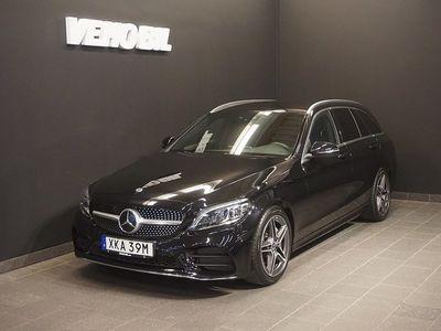 begagnad Mercedes C220 T d AMG Backkamera Värmare Aut Drag Nav ILS