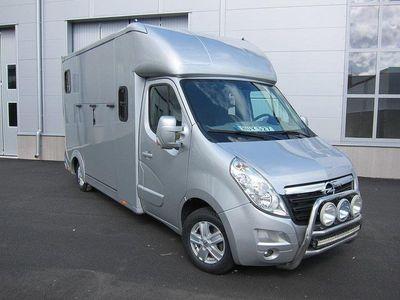 begagnad Opel Movano Nybyggd Hästlastbil
