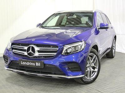 begagnad Mercedes GLC220 d 4MATIC AMG Sky Värmare, Drag