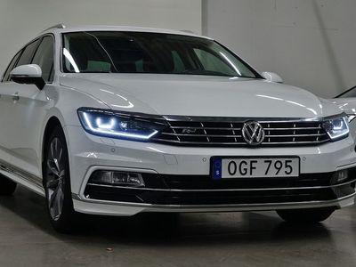 begagnad VW Passat TDI R-Line Executive D-Värmare Drag 190hk