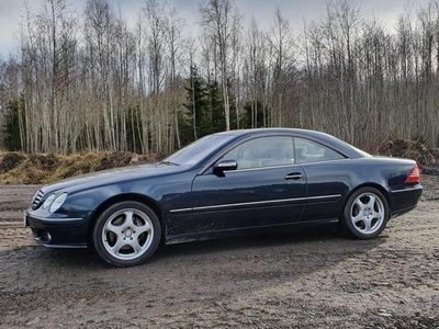 """begagnad Mercedes CL500 """" Exclusive leather """""""