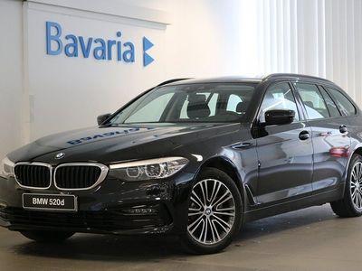 begagnad BMW 520 d xDrive Touring Sport Line *HÖSTSALO