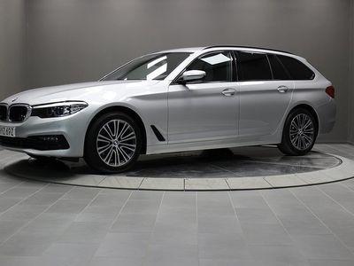 begagnad BMW 520 d xDrive Touring, Sport Line Drag HiFi, Ord.pris 560.100:-
