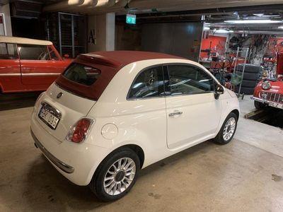 begagnad Fiat 500C Lounge