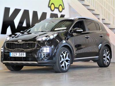 begagnad Kia Sportage 2.0 CRDi AWD | GT Line | Navi | Apple