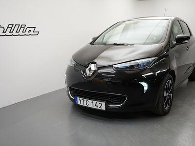 begagnad Renault Zoe R90 41 kWh Intens batterihyra. Kvarvarande nybils 2018, Halvkombi 179 900 kr