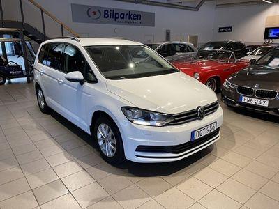 begagnad VW Touran 1.4 TSI Euro 6 7-sits 150hk