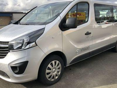 gebraucht Opel Vivaro VIVARO 9-sits 125HK Manuell