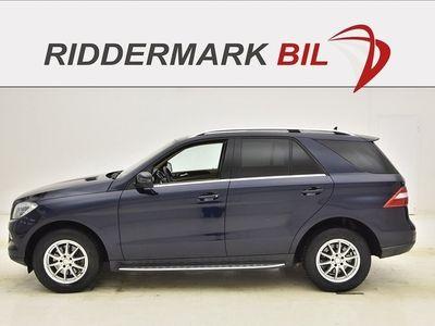 brugt Mercedes 350 M-KLASSCDI BlueTEC 258hk SKINN AUT DRAG
