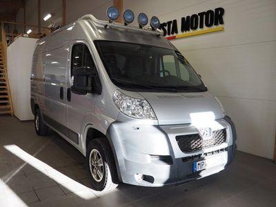 begagnad Peugeot Boxer 2,2 HDI Skåp (drag+dieselv) -11
