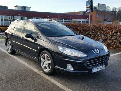 begagnad Peugeot 407 1,6 HDI PANORAMA, -07