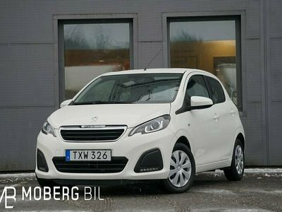 begagnad Peugeot 108 1.0 VTi 72hk Active Nybilsgaranti 360:-Årsskatt