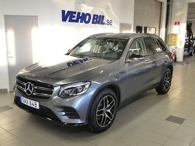 begagnad Mercedes GLC250 d 4M d/4Matic/Parkeringsvärmare/Automat/Dragkrok/Multibeam/AM