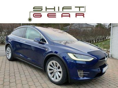 begagnad Tesla Model X 90D 6sits AP2 Fri laddning 1 äg