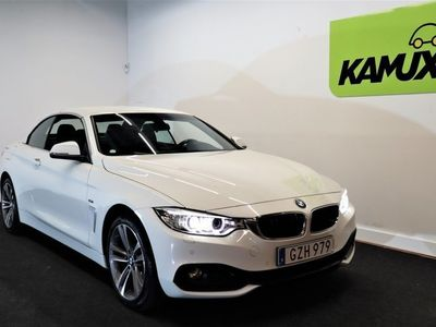 begagnad BMW 428 i xDrive Convertible Sportline