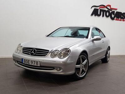 begagnad Mercedes CLK500 Coupé V8 306hk