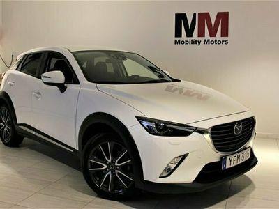 begagnad Mazda CX-3 2.0 SKYACTIV-G Euro 6 120hk OPTIMUM SKINN