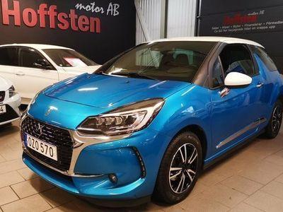 begagnad Citroën DS3 Övrigt1.2 PureTech VTi AUT Euro 6 NAVI 2016, Halvkombi 119 900 kr