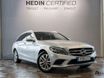 begagnad Mercedes C200 Kombi // Advantagepkt & Drag //