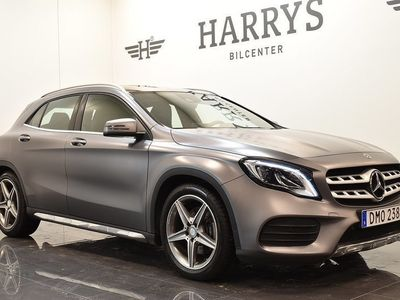 begagnad Mercedes GLA220 4MATIC 7G-DCT 184HK AMG Taklucka GPS Drag
