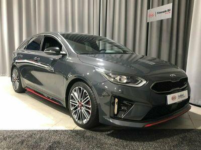 begagnad Kia pro_cee'd GT Cee´d 1.6 T-GDI DCT Fullservad Nybils 2019, Halvkombi Pris 269 000 kr