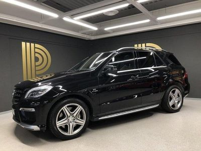 begagnad Mercedes ML63 AMG AMG 4MATIC (525hk) Driver