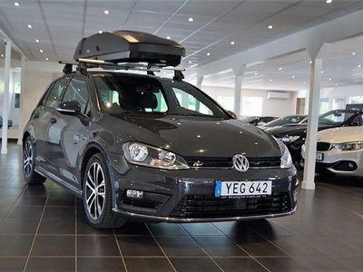 begagnad VW Golf 1.4 TSI R-Line Euro 6 150hk Navi