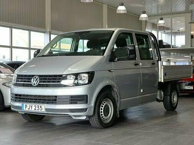 begagnad VW Transporter 2.0 TDI DSG PICK-UP Dubbelhytt 2017, Transportbil 299 000 kr
