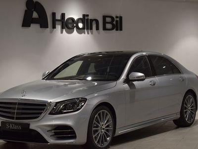 begagnad Mercedes S400 D 4MATIC SEDAN LÅNG // AMG-Line