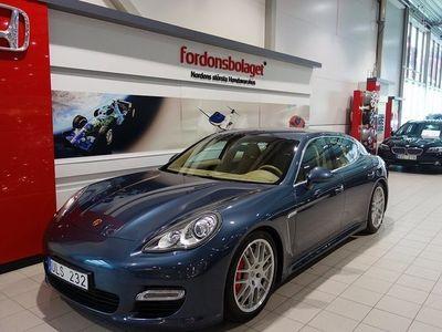 begagnad Porsche Panamera Turbo 500HK Svensksåld