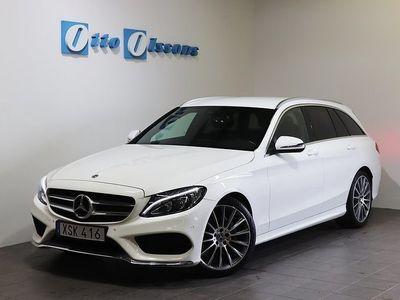 begagnad Mercedes C220 D AMG Kombi Aut, Nav, Drag