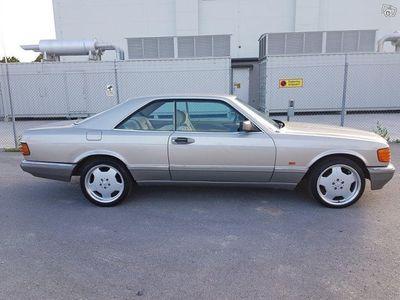 usata Mercedes 500 SEC (W126) *NYBESIKTIGAD/NY -86