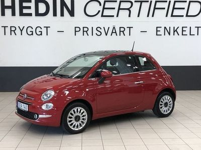begagnad Fiat 500 1,2 (69hk) LOUNGE / PANORAMA / BLUETOOTH