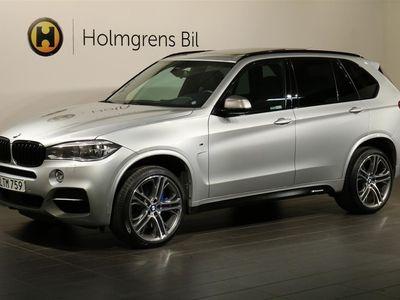 begagnad BMW X5 M50d Panorama Värmare Komfort Drag