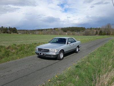begagnad Mercedes 500 SECNybesiktad