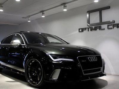 begagnad Audi RS7 4.0TFSi ABT Night-Vision 2014, Sportkupé 569 900 kr