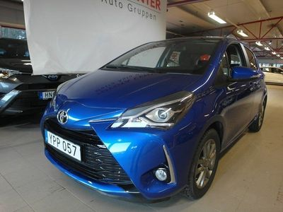 brugt Toyota Yaris 1,5 5-D TOUCH & GO EDITION COMFORT PACK