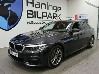begagnad BMW 520 d xDrive M-Sport Nav Värmare HiFi Drag 190hk