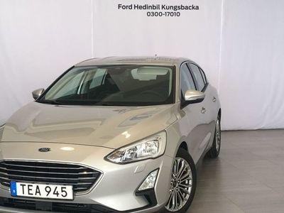 begagnad Ford Focus Titanium Launch 1.0 125HK 5D Demo