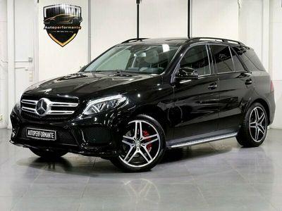 begagnad Mercedes GLE350 d AMG 4M PANO D-VÄR GPS DRAG 258hk