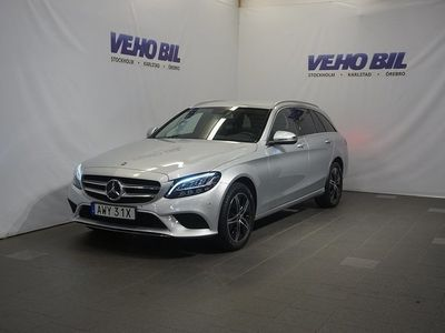 begagnad Mercedes 220 C-Klass4MATIC 9G-Tronic Avantgarde Nav Värmare