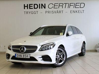 begagnad Mercedes 200 - Benz C - KlassT d AMG line, Dragkrok