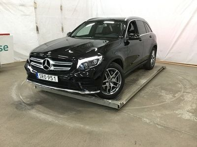 brugt Mercedes GLC220 d 4MATIC AMG SKY 9G-Tro -19