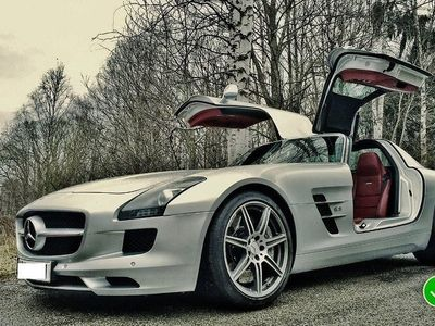 brugt Mercedes SLS AMG Coupé AMG Speedshift DCT Exclusive Leather 571hk