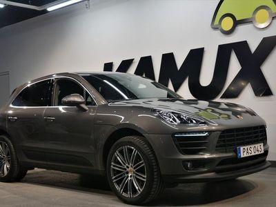 begagnad Porsche Macan S Diesel PDK Sv-Såld Navi Drag 258hk