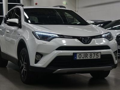 begagnad Toyota RAV4 Hybrid Executive Navi 2.5 i-AWD Drag 197hk